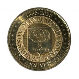 Médaille anniversaire des 350 ans de la Manufacture Royale d'Aubusson