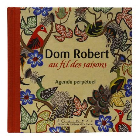 Agenda perpétuel Au fil des saisons de Dom Robert, Oiseaux (couverture beige)