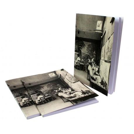 "Carnet ""atelier de dessin"" (carte postale ancienne)"