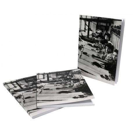 """Carnet """"atelier de tissage"""" (carte postale ancienne)"""