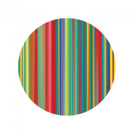 """Magnet ronde """" Les couleurs de la Cité """""""