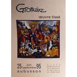 Affiche Gromaire, Oeuvre tissé