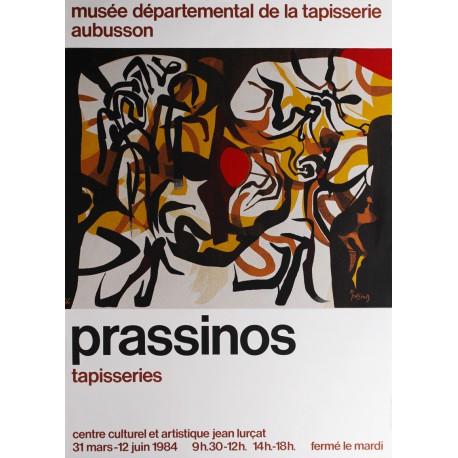 Affiche Prassinos, Tapisseries